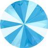 Swarovski 1122 Rivoli Round Stone Crystal Summer Blue 12mm