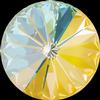Swarovski 1122 Rivoli Round Stone Crystal Sunshine DeLite 12mm