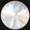Swarovski 1122 Rivoli Round Stone Crystal Dusty Pink DeLite 12mm