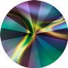 Swarovski 1122 Rivoli Round Stone Crystal Rainbow Dark 12mm