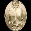 Swarovski 4120 Oval Fancy Stone Light Silk 6x4mm