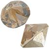 Swarovski 1188 XIRIUS Pointed Chaton Crystal Golden Shadow SS17