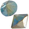 Swarovski 1188 XIRIUS Pointed Chaton Crystal Iridescent Green SS17