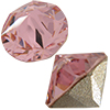 Swarovski 1188 XIRIUS Pointed Chaton Light Rose SS17