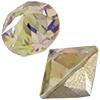 Swarovski 1188 XIRIUS Pointed Chaton Crystal Luminous Green SS17