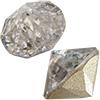 Swarovski 1188 XIRIUS Pointed Chaton Crystal Silver Patina SS39