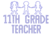 Iron On Transfer - ELEVENTH GRADE TEACHER