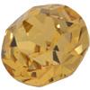 Swarovski 1200 Dentelles Fancy Round Stone Special Gold SS60