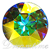 Swarovski 1201 Fancy Round Stone Crystal AB 27mm