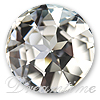 Swarovski 1201 Fancy Round Stone Crystal 35mm