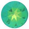 Swarovski 1201 Fancy Round Stone Ultra Emerald AB 27mm