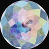 Swarovski 1400 Dome Round Stone Crystal AB 12mm