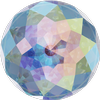 Swarovski 1400 Dome Round Stone Crystal AB 14mm