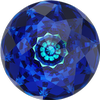 Swarovski 1400 Dome Round Stone Crystal Bermuda Blue 12mm