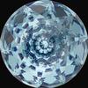 Swarovski 1400 Dome Round Stone Aquamarine 10mm