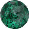 Swarovski 1400 Dome Round Stone Emerald 12mm