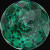 Swarovski 1400 Dome Round Stone Emerald 14mm
