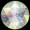 Dreamtime Crystal DC 1401 Rose Cut Round Stone Crystal AB 10mm