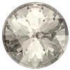 Dreamtime Crystal DC 1401 Rose Cut Round Stone Crystal Silver Shade 10mm