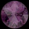 Swarovski 1401 Rose Cut Round Stone Amethyst Ignite 10mm
