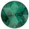 Dreamtime Crystal DC 1401 Rose Cut Round Stone Emerald 10mm