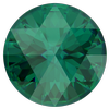 Swarovski 1401 Rose Cut Round Stone Emerald Ignite 10mm