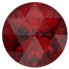 Dreamtime Crystal DC 1401 Rose Cut Round Stone Scarlet 10mm