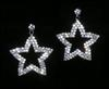 Double Row Star Earrings