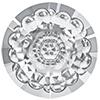 Swarovski 1681 Vision Round Stone Crystal 12mm