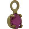Swarovski 17704 Stone in Setting Rose/Gold PP24