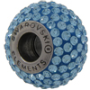Swarovski 180101 BeCharmed Pave Beads 14mm Aquamarine
