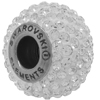 Swarovski 180101 BeCharmed Pave Beads 14mm Crystal