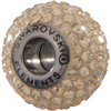 Swarovski 180101 BeCharmed Pave Beads 14mm Golden Shadow