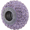 Swarovski 180101 BeCharmed Pave Beads 14mm Light Amethyst
