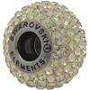 Swarovski 180101 BeCharmed Pave Beads 14mm Luminous Green