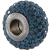 Swarovski 180101 BeCharmed Pave Beads 14mm Montana