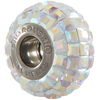 Swarovski 180201 BeCharmed Pave Beads 14mm Crystal AB