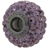 Swarovski 180201 BeCharmed Pave Beads 14mm Light Amethyst
