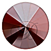Swarovski 2006 Rivoli Flat Back Crystal Red Magma 12mm