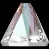 Swarovski 2019 Round Spike Flat Back Crystal AB 4mm