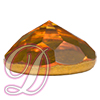 Swarovski 2020 Rauten Rose Flat Back Topaz 11mm