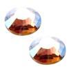 Swarovski 2028 Rhinestones FlatBack 9ss Light Colorado Topaz AB Unfoiled