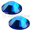 Swarovski 2028 Rhinestones FlatBack 12ss Capri Blue Glacier Blue