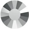 Swarovski 2034 Concise Flat Back Crystal Light Chrome SS20