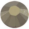 Swarovski 2038 XILION Rose Hotfix Crystal Metallic Light Gold SS20