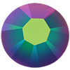 Swarovski 2038 XILION Rose Hotfix Crystal Scarabaeus Green SS6