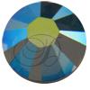 Swarovski 2038 XILION Rose Hotfix Black Diamond AB SS16