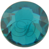 Swarovski 2038 XILION Rose Hotfix Blue Zircon SS8