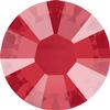 Swarovski 2038 XILION Rose Hotfix Crystal Royal Red (Hotfix Transparent) SS10