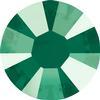 Swarovski 2038 XILION Rose Hotfix Crystal Royal Green (Hotfix Transparent) SS10
